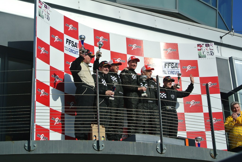 podium caterham