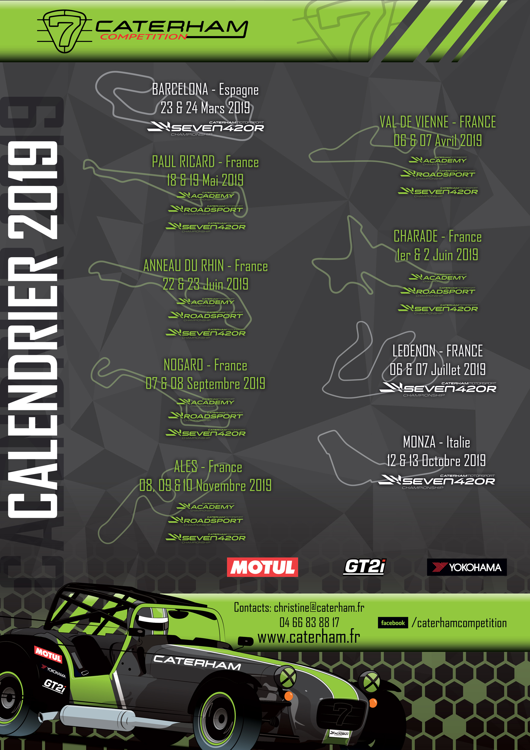 Caterham_ Competition_Calendrier_2019