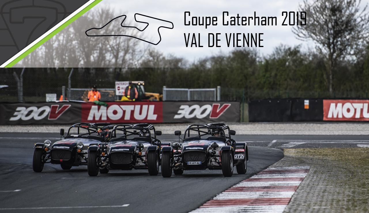Circuit Val De Vienne Calendrier 2019.Coupe Caterham 2019 Ouverture Du Bal Au Val De Vienne
